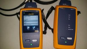 Fluke DSX 5000 Flukes newest certifier