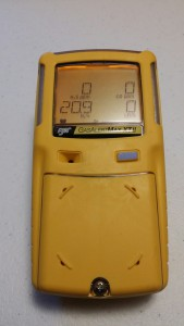Confined space 4 Gas Monitor
